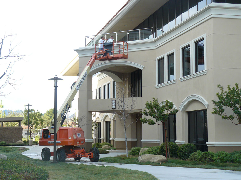 westlake village commercial exterior painting