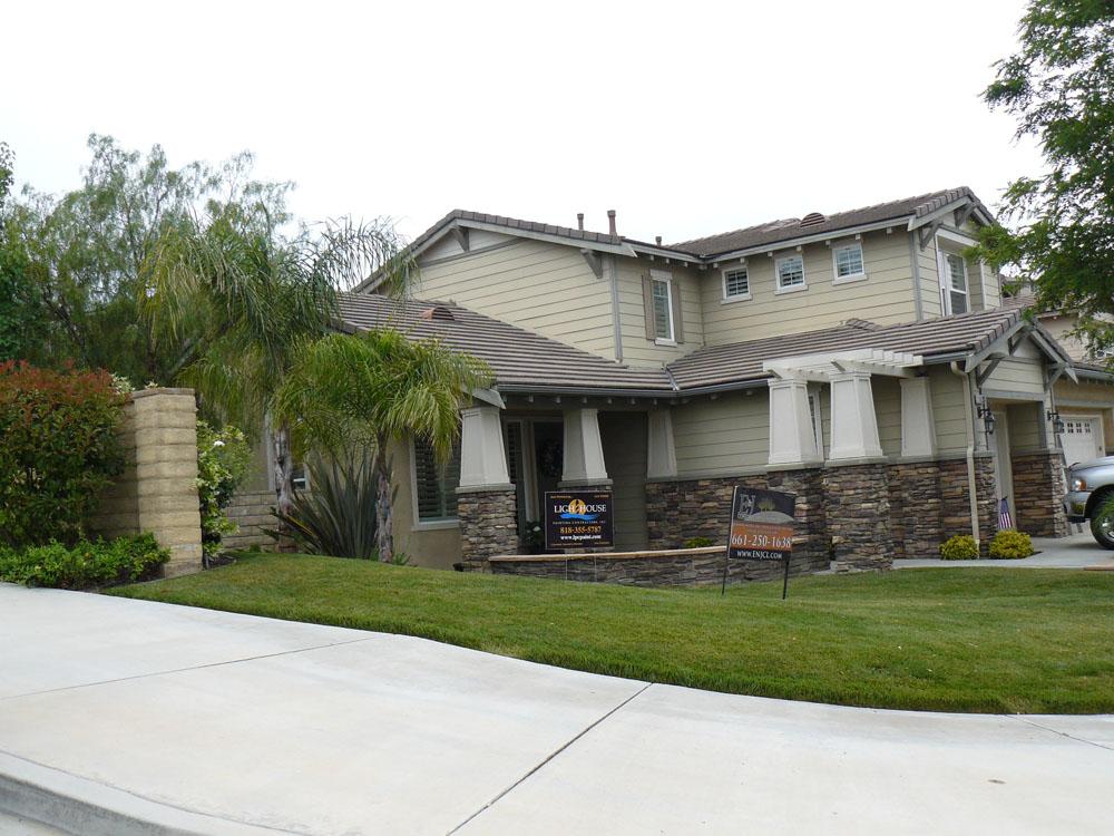 stevenson ranch exterior residential painting