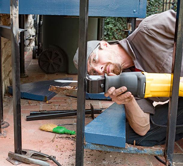 wrought iron repair