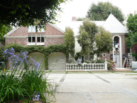 pacific palisades residential exterior painting