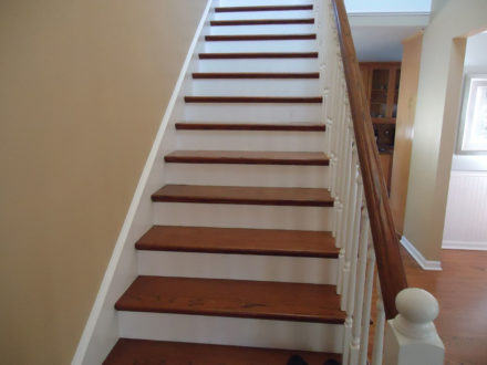studio city residential interior painting and stain