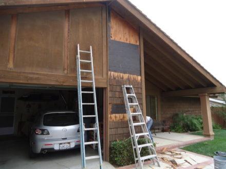 wood siding repairs
