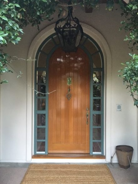 Calabasas Front Door Staining
