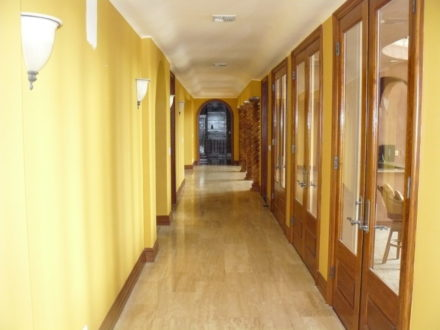hallway interior painting stained and varnish westlake village