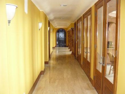 hallway interior painting stained and varnish westlake village