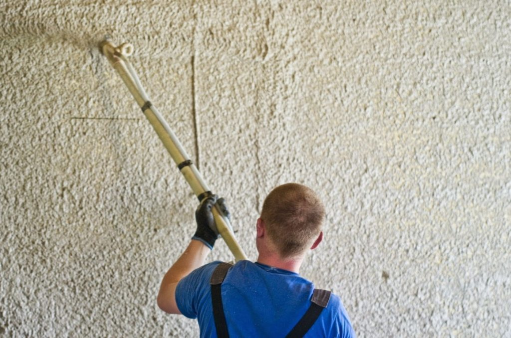 stucco application