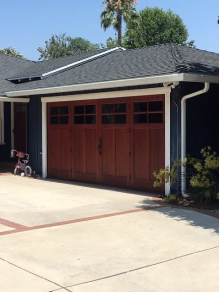Studio City Stain Varnish Door