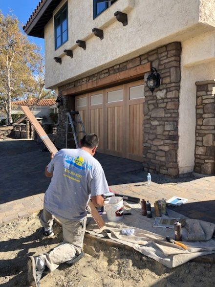 thousand oaks before exterior painting